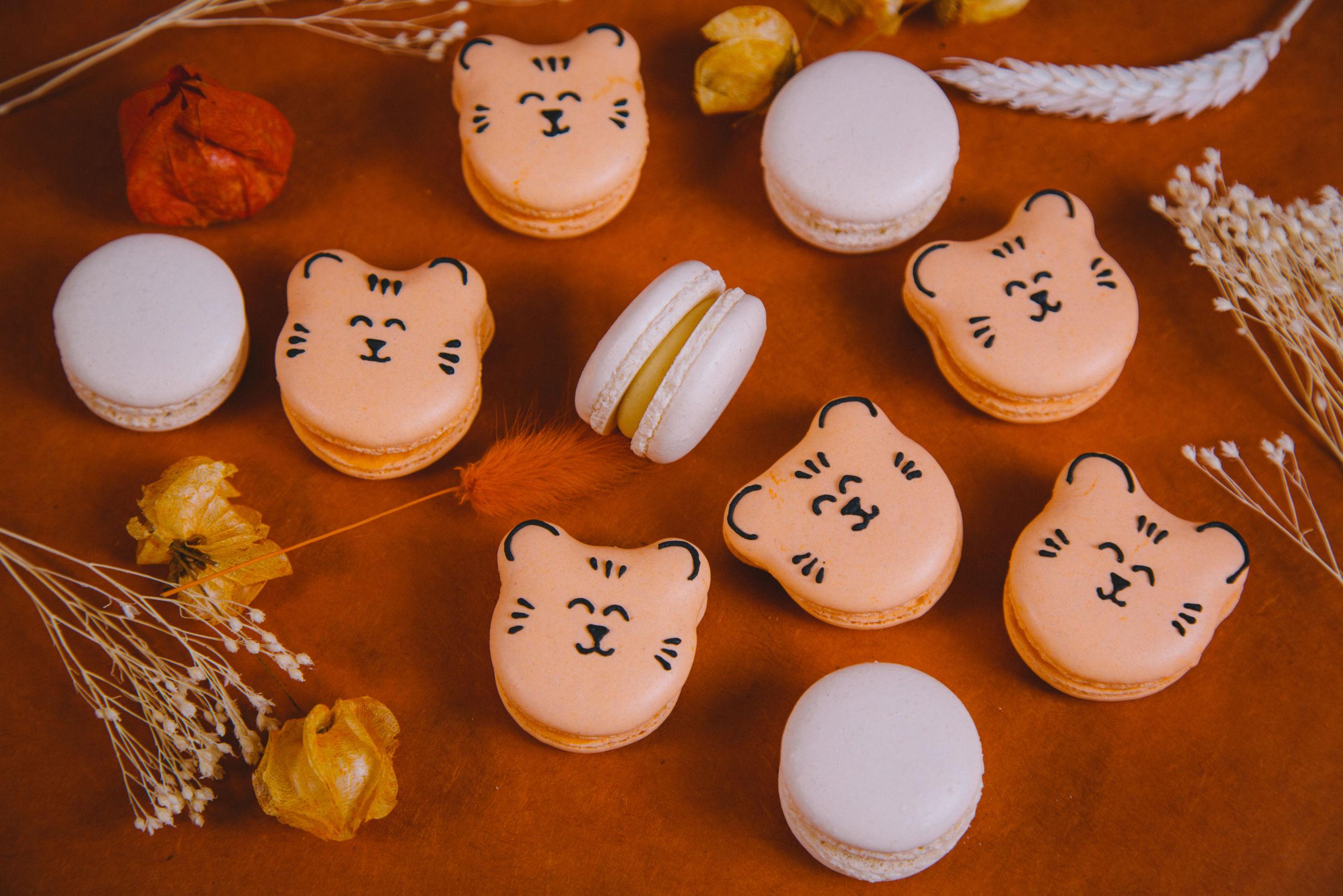 macaron personnalisé anniversaire
