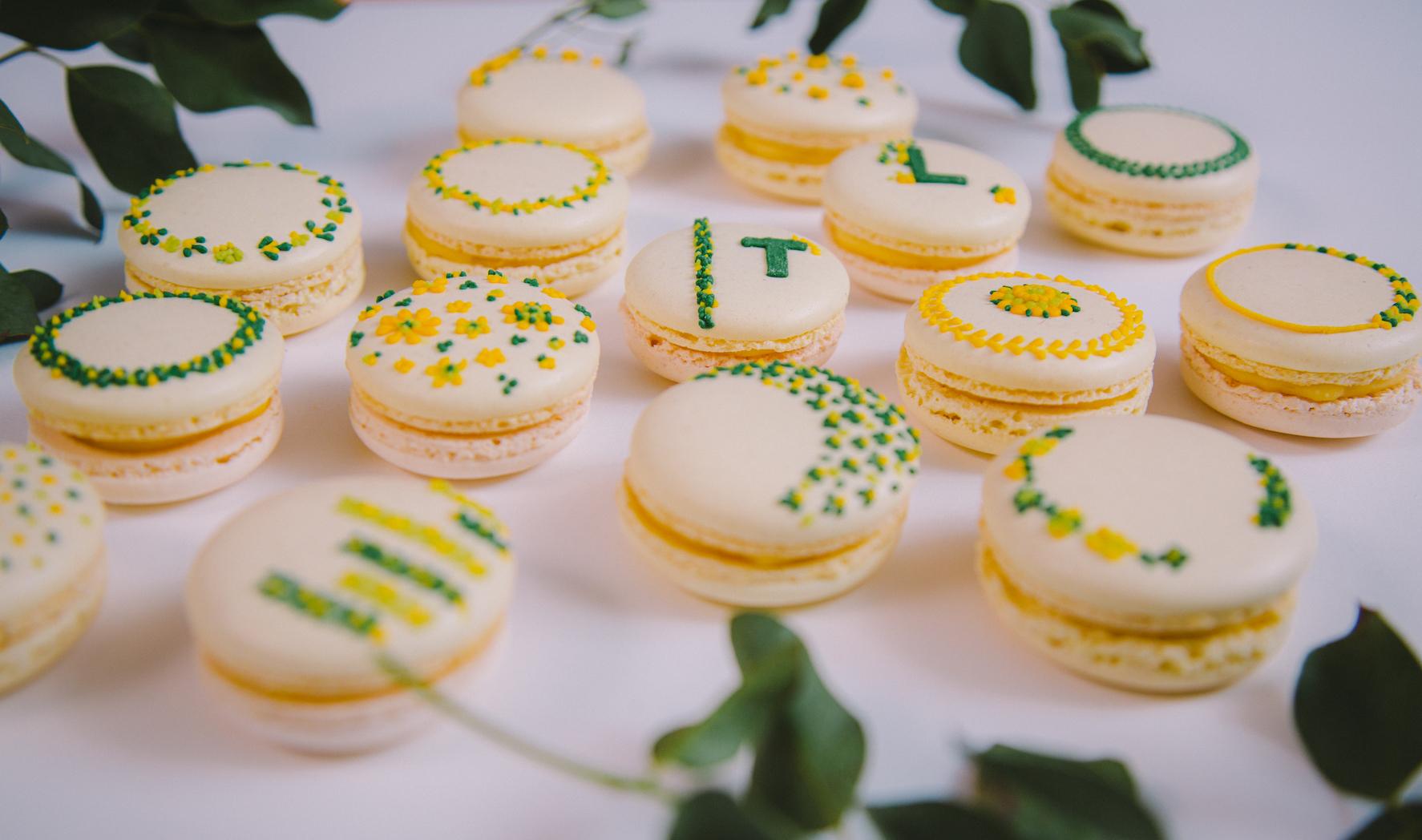 macaron personnalisé mariage